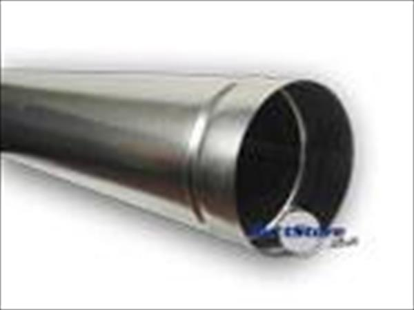 For Sale: 5 meters of Galvanized 125mm duct pipes Image 1