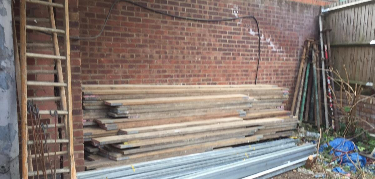 95no x assorted length scaffold boards