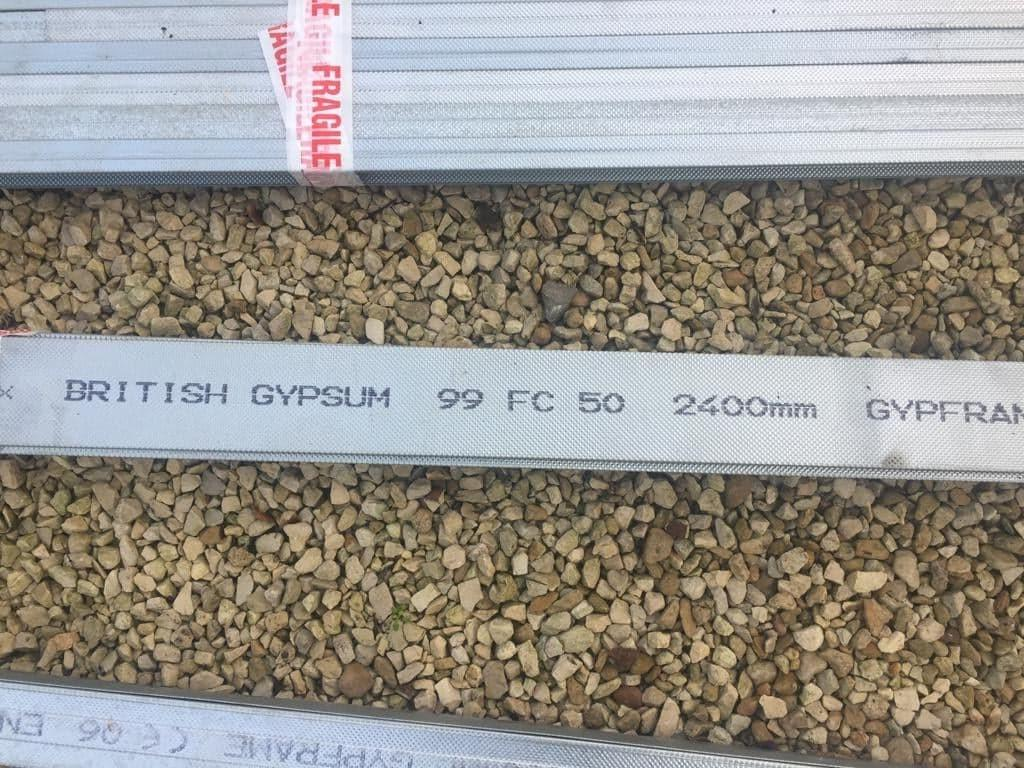 For Sale: British Gypsum 19x 99FC50 fixing channel Image 1