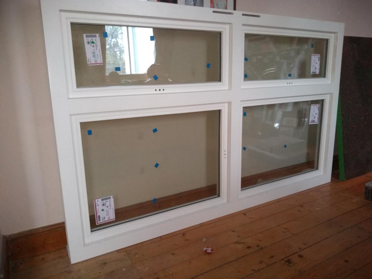 For Sale: Window - brand new timber painted white. Image 1