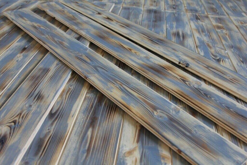 For Sale: Cladding wall pallet wood rustic planks  Image 1