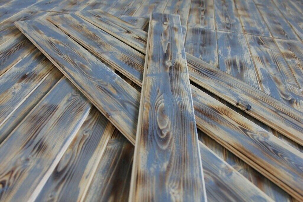 For Sale: Cladding wall pallet wood rustic planks  Image 3