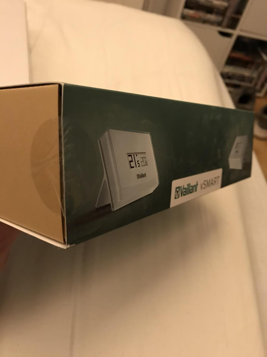 For Sale: Vaillant vSMART Smart Thermostat System Boiler Control V Smart New Thermo Stat brand new and sealed Image 2
