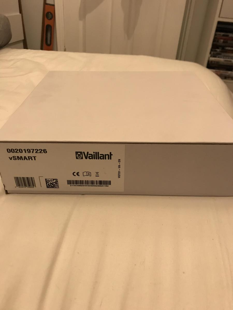 For Sale: Vaillant vSMART Smart Thermostat System Boiler Control V Smart New Thermo Stat brand new and sealed Image 4
