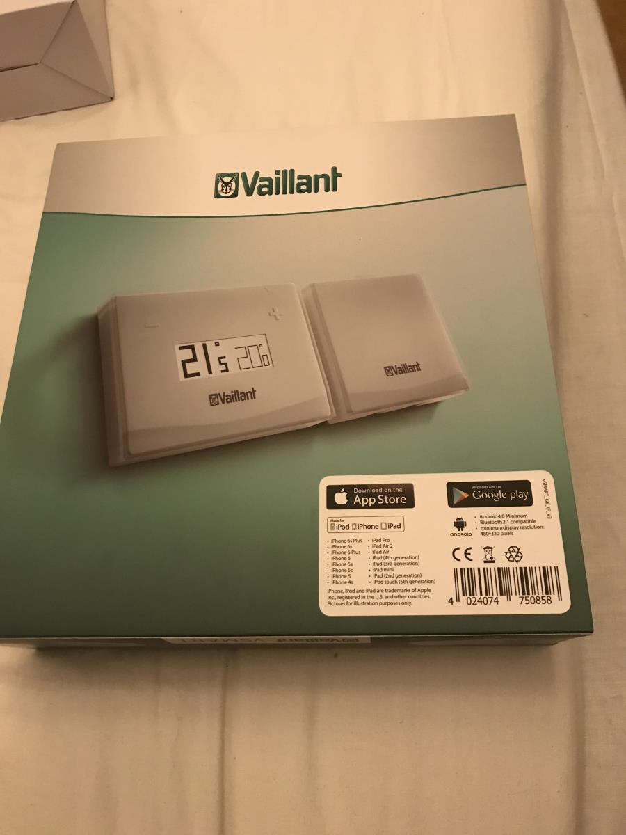 For Sale: Vaillant vSMART Smart Thermostat System Boiler Control V Smart New Thermo Stat brand new and sealed Image 3