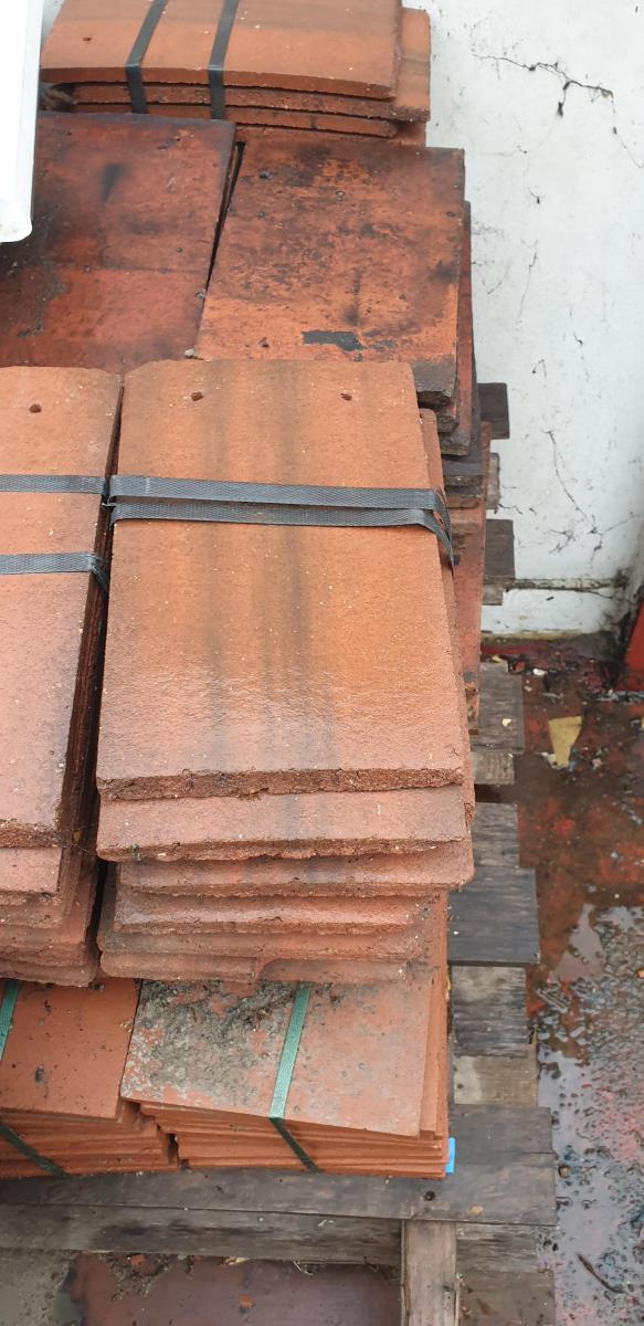 For Sale: Mixed lot of red roof tiles Image 1