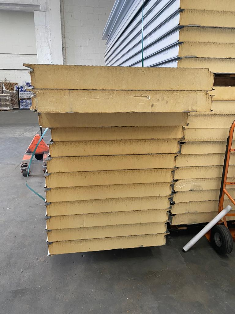 For Sale: 120mm INSULATED PANELS FOR ROOFING OR WALLS Image 1